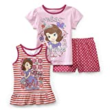 Disney Baby- Sofia the First Toddler Girl's T-shirt, Tunic & Shorts