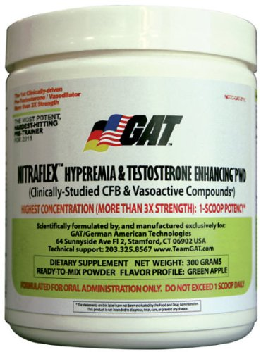 NitraFlex (Nitra Flex) by GAT // Pre-Workout Powder 300g