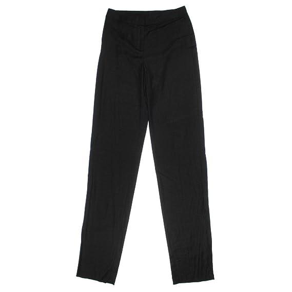 St John Womens Heathered Flat Front Dress Pants