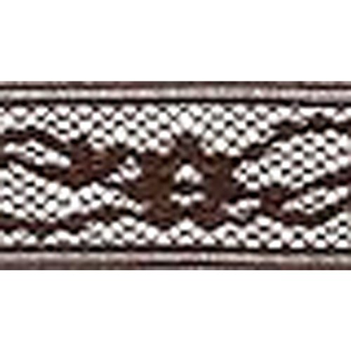 Wrights 117-305-092 Flexi-Lace Hem Band 3-4 in. 3 Yards-Seal Brown