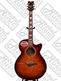Dean Guitars Performer Quilt Ash A/E - TBZ Acoustic-Electric Guitar