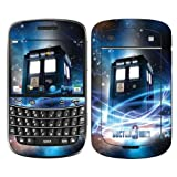 Diabloskinz Vinyl Adhesive Skin,Decal,Sticker for the Blackberry Bold 9900 Series - The Tardis