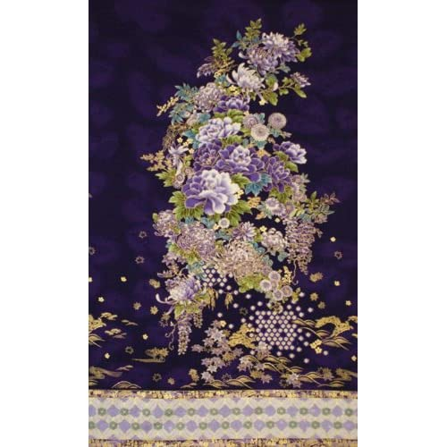 Amazon.com: Robert Kaufman 'Imperial Collection 8' Hyacinth Floral