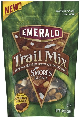 Emerald S'mores Trail Mix, 5.5-Ounce Bags (Pack of 6)