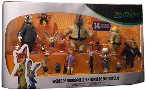 Rocco Giocattoli L70913 - Zootropolis, Multi Pack con 14 Personaggi
