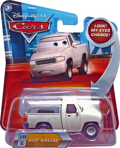 Mattel Duff Wrecks #133 W/ Lenticular Eyes Disney / Pixar Cars 1:55 Scale Die-Cast Vehicle