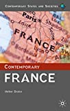 img - for Contemporary France (Contemporary States and Societies Series) book / textbook / text book