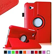 Fintie (Red) 360 Degrees Rotating Stand Case Cover For Samsung Galaxy Tab 2 7.0 Inch Tablet -- Multiple Color...