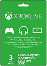 Comprar Microsoft - Live 3 Meses Gold Card (Xbox 360/One)