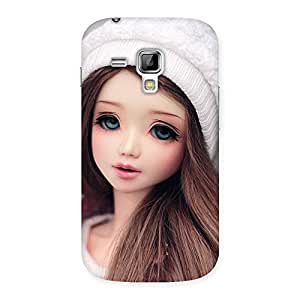 Gorgeous Innocent Angel Doll Multicolor Back Case Cover for Galaxy S Duos
