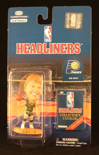 RIK SMITS / INDIANA PACERS * 3 INCH * 1997 NBA Headliners Basketball Collector Figure - 1