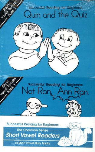 12 Short Vowel Readers (Learning Language Arts Through Literature, Blue Book (1st Grade))