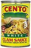 Cento White Clam Sauce, 10.5-Ounce Cans (Pack of 12)