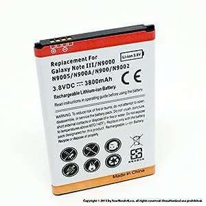 YN4L 3800mAh battery for Samsung Galaxy Note 3 III; N9000
