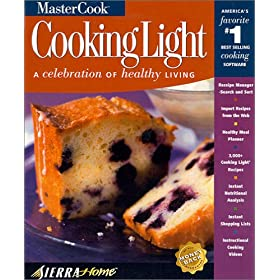 MasterCook Cooking Light 6.0