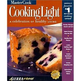 MasterCook Cooking Light 6.0