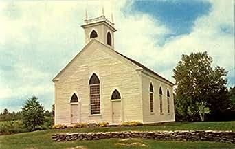 South Solon Meeting House Solon, Maine Original Vintage Postcard at