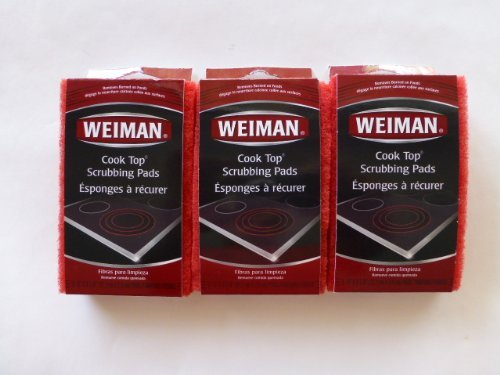 Weiman Cook Top Scrubbing Pads (9ct) (Weiman Glass Cooktop Pads compare prices)