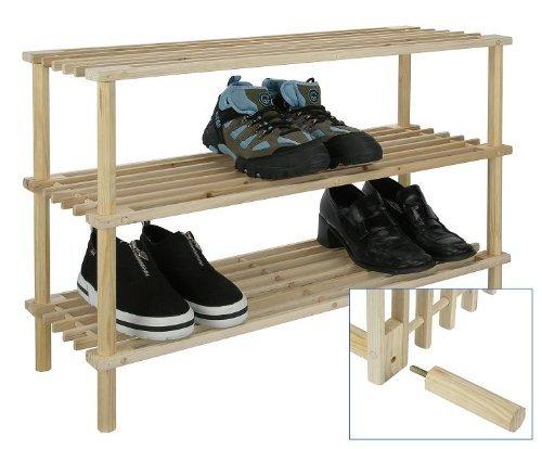 Bambelaa-Dreistckiges-Schuhregal-Holz-ca-74-x-26-x-49cm-1-Stck-Einfacher-Zusammenbauen-Werkzeuglos-Mglich