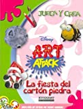 La Fiesta del Carton Piedra (Juega y Crea Disney Art Attack) (Spanish Edition)