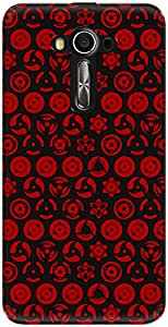The Racoon Grip Sharingan Of The Uchiha hard plastic printed back case/cover for Asus Zenfone 3 Laser Ze 520Kl