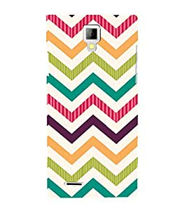 EPICCASE Cris cross Mobile Back Case Cover For Micromax Canvas Xpress A99 (Designer Case)