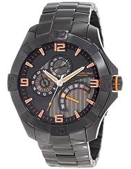 Stuhrling Original Men's 264XB.335957 Sportsman Gen-X Pro Quartz Day and Date Orange Watch