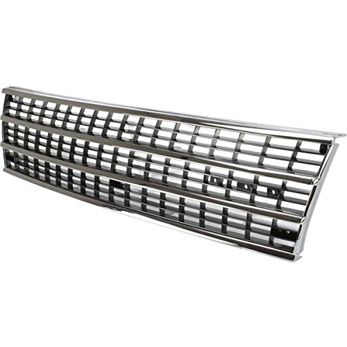 Diften 102-A0170-X01 - New Grille Grill Chrome Plymouth Voyager 1991-1995 CH1200146 4576763
