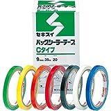 バッグシーラー用テープ Cタイプ(20巻)黄