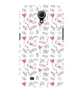 EPICCASE Lovely pattern Mobile Back Case Cover For Samsung Galaxy Mega 6.3 I 9200 (Designer Case)