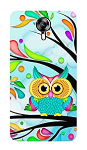 ZAPCASE PRINTED BACK COVER FOR MICROMAX EXPRESS 2 Multicolor