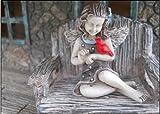 My Fairy Gardens April Fairy with Cardinal Miniature Fairy Gardening