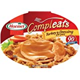 Hormel Compleats Turkey & Dressing, 10-Ounce Microwavable Bowls (Pack of 6) ~ Hormel