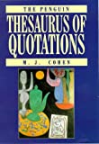 Thesaurus of Quotations, The Penguin (0670858846) by Cohen, J.M.