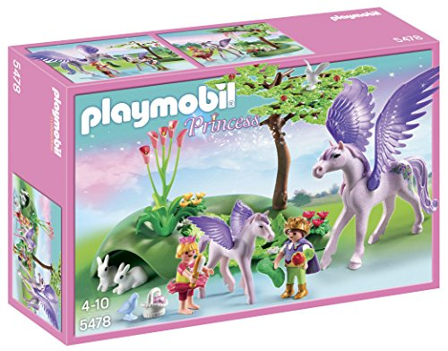 Playmobil Royal Children With Pegasus And Baby 5478 front-1053661