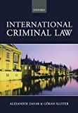 International Criminal Law: A Critical Introduction