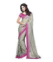 Akshaya Fashions Saree (Beige)
