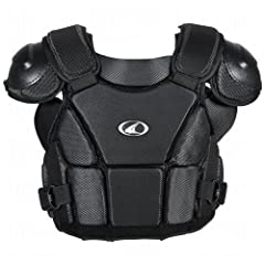 Buy Champro Pro Plus Umpire Chest Protector (Black, Medium) by Champro