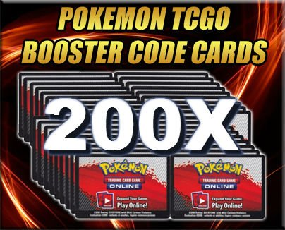 200-Booster-Pack-Code-Pokemon-Card-Lot-Online-Game-PTCGO