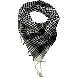 Desert Scarf - Try these trendy desert scarves - Shemagh - Keffiyeh - Available in Blue, Black, Military Green, Red, Pink, Orange, Yellow, Purple