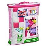 Mega Bloks First Builders Big Building Bags Pink