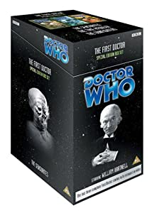Doctor Who - The First Doctor (The Sensorites [1964] / The Time Meddler [1965] / The Gunfighters [1966]) [VHS]