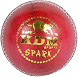 KDM Spark Leather Ball (Red)