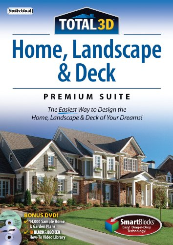 Total 3D Home, Landscape and Deck Premium Suite 12 [Download] (Total 3d Home Design Software compare prices)