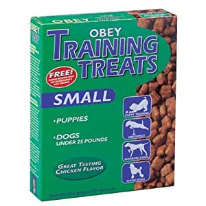 Obey Small Dog Training Treats 20 oz