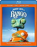 510DQ9US20L. SL160  Rango (Two Disc Blu ray/DVD Combo + Digital Copy)