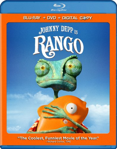 Cover art for  Rango (Two-Disc Blu-ray/DVD Combo + Digital Copy)