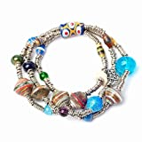 Handmade, Fair Trade, Upcycled 3-Strand Eco-Fusion Bracelet