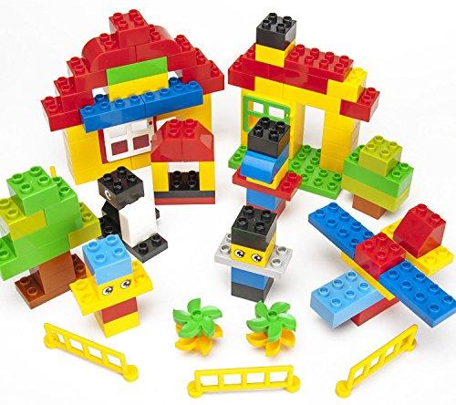 Katara-1755-Bauteile-Set-Steine-Kompatibel-zu-Lego-Duplo-Konstruktions-Bausteine-100er-set-bunt