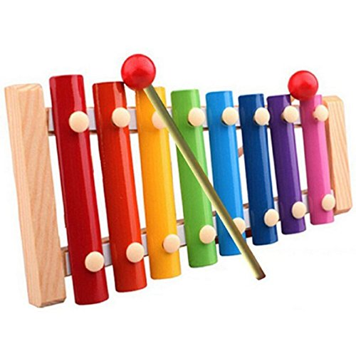 tongshi Bambino Kid Musical Giocattoli xilofono saggezza Sviluppo strumento di legno